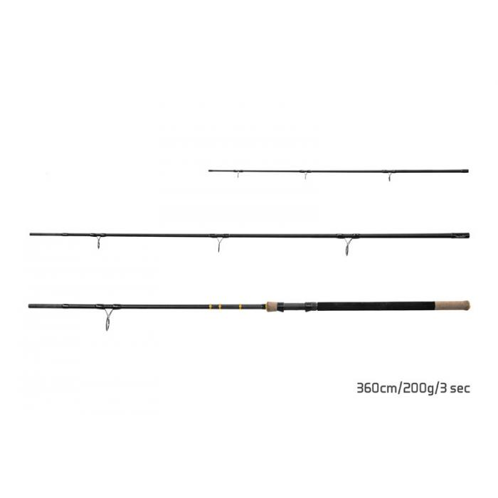 Въдица Delphin RIVER Trophy NXT- 360cm/200g/3 parts