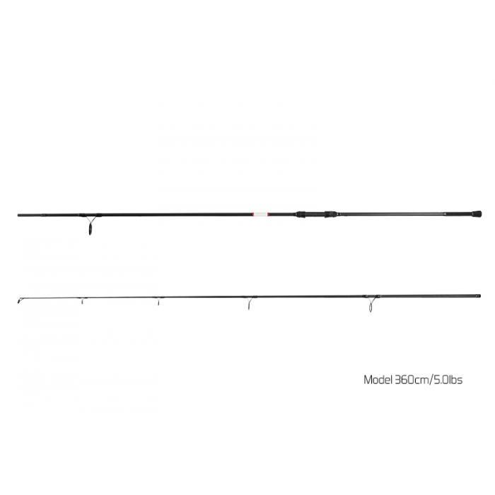 Спод въдица Delphin BOMBER / 2 части 360cm/5,00lbs