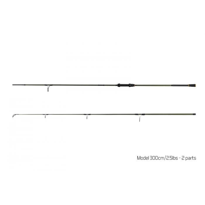 Въдица Delphin NEXIS CARP / 3 части - 360cm/3.00lbs