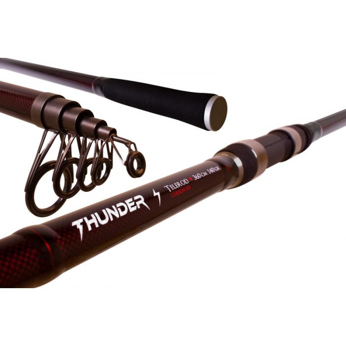 Шарански телескоп THUNDER TELEROD - 390cm/до140g
