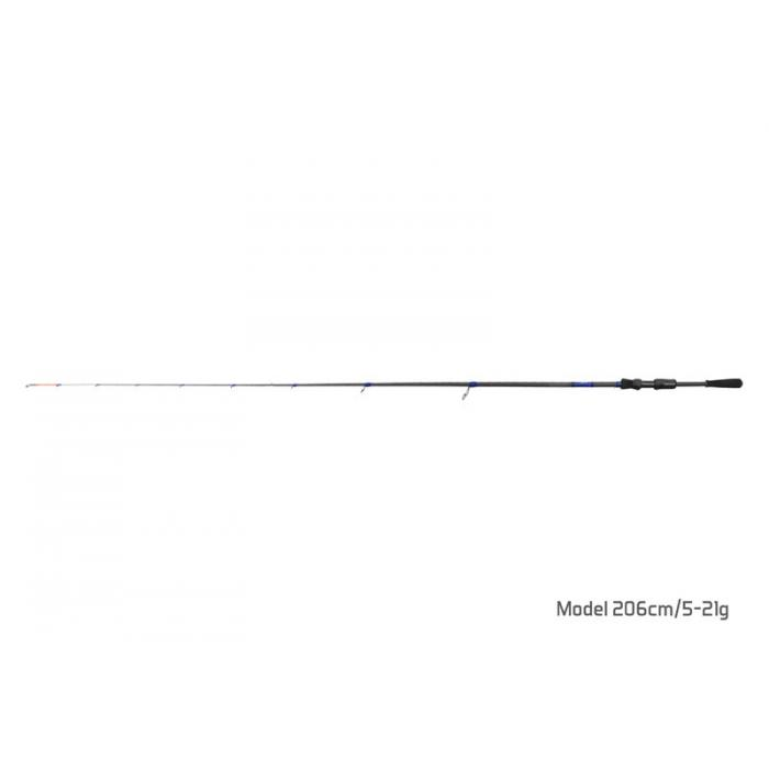 Въдица Delphin HOAX / 1 част 206cm/5-21g