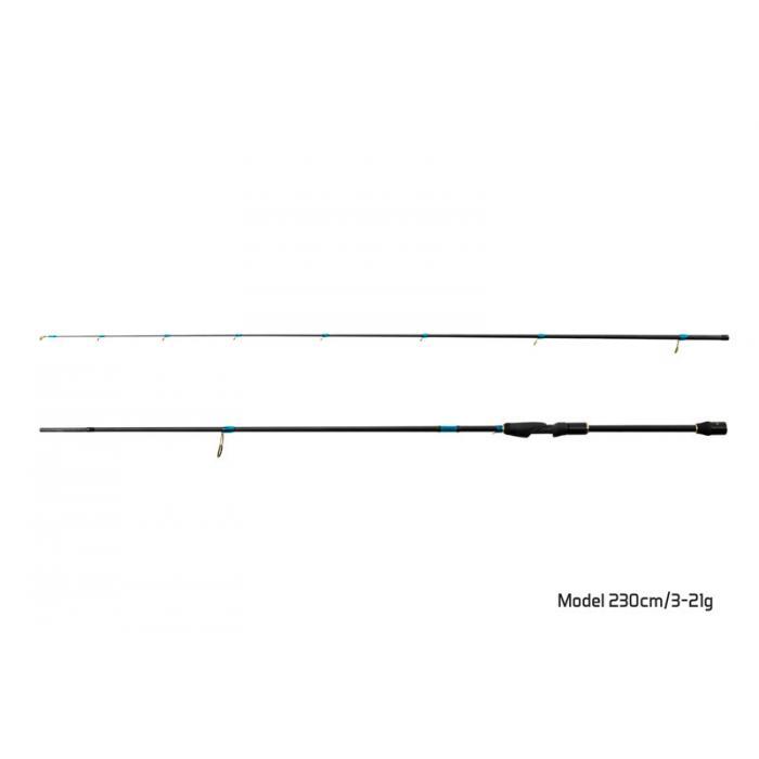 Въдица Delphin ZANDERA / 2 части 230cm/3-21g