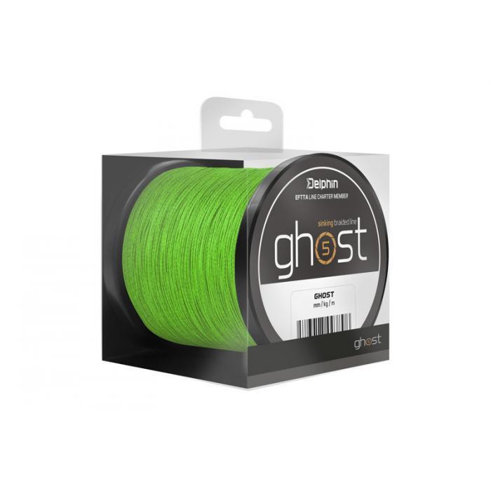 Плетено влакно Delphin GHOST 4+1 / green