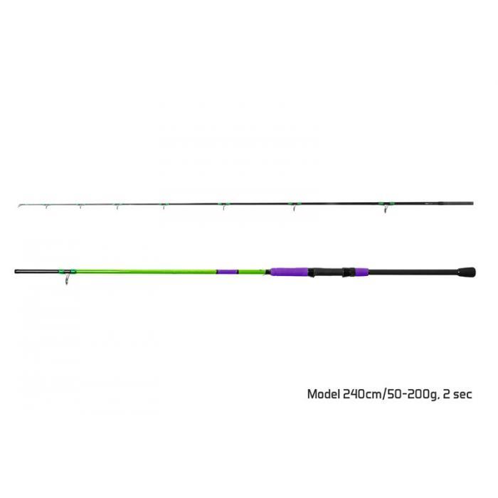Въдица Delphin PILKSTER / 2 части 270cm/50-200g