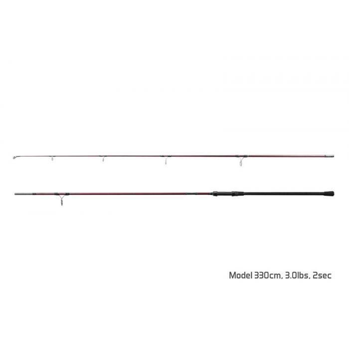 Въдица Delphin ETNA E3 / 3 части 360cm/3,00lbs