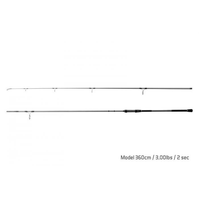 Въдица Delphin TORKS EVA / 2 части 360cm/3,00lbs