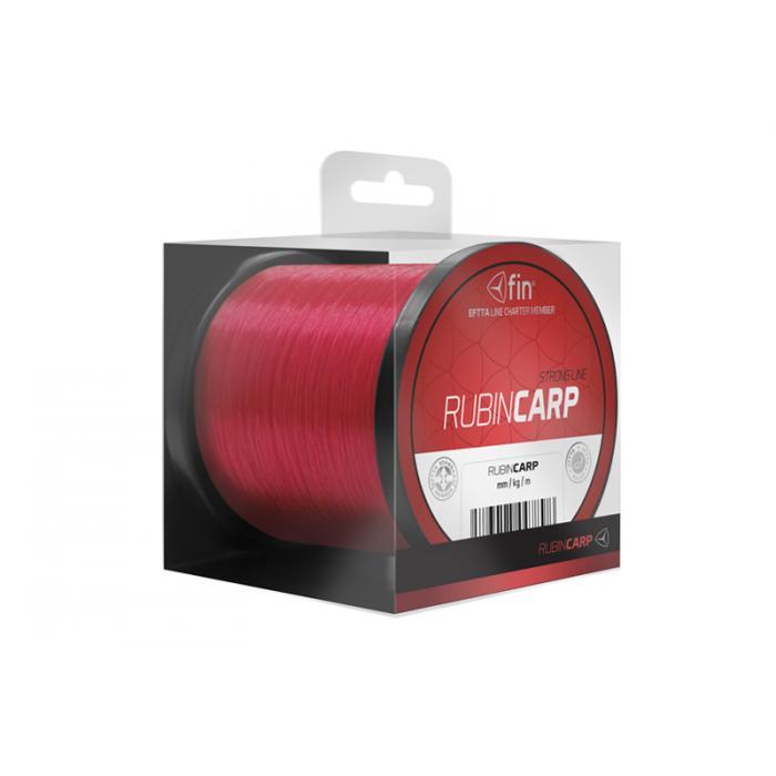 Монофилно влакно FIN RUBIN CARP / red