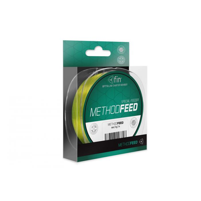 Монофилно влакно FIN Method FEED /fluo yellow