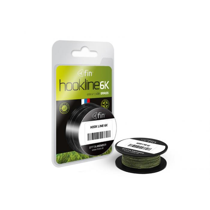 Плетено влакно fin HOOKLINE 6K 20m / grass