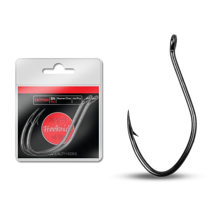 Куки Delphin CATFISH ring / 2 бр