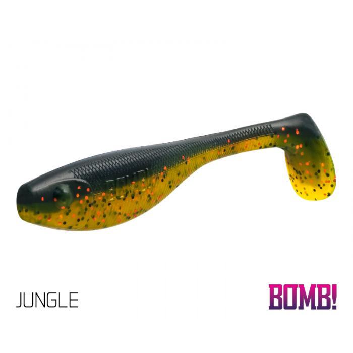 Силиконова примамка BOMB! Fatty 5 бр - 10cm/JUNGLE
