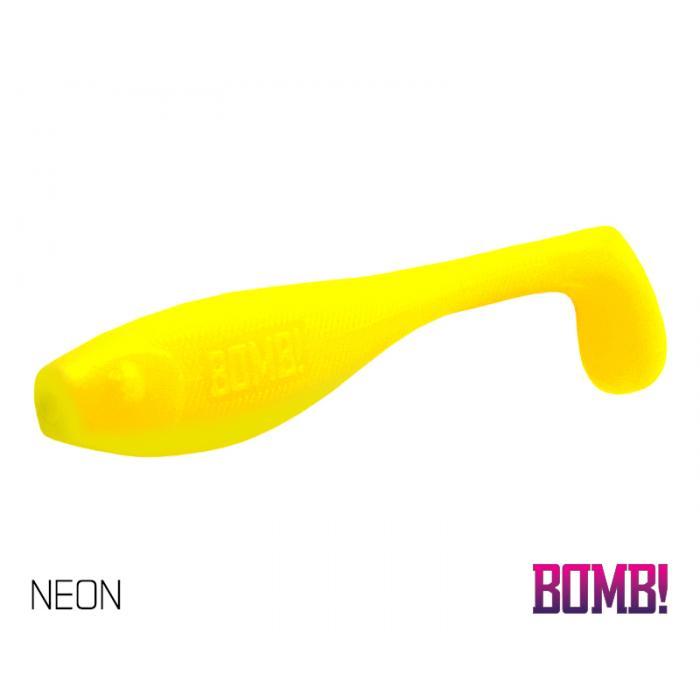Силиконова примамка BOMB! Fatty 5 бр - 12cm/NEON