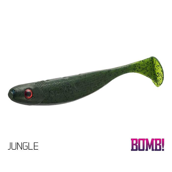 Силиконова примамка BOMB! Rippa 5бр - 8cm/JUNGLE