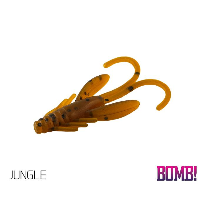 Силиконовоа примамка BOMB! Nympha - 10 бр. - 2,5cm/JUNGLE