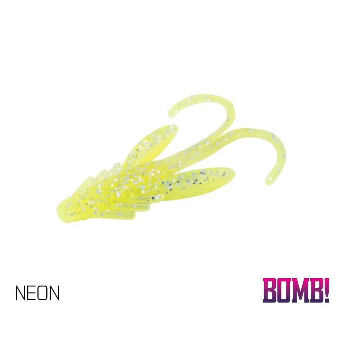 Силиконовоа примамка BOMB! Nympha - 10 бр. - 2,5cm/NEON