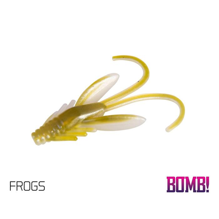 Силиконовоа примамка BOMB! Nympha - / 10 бр. 2,5cm/FROGS
