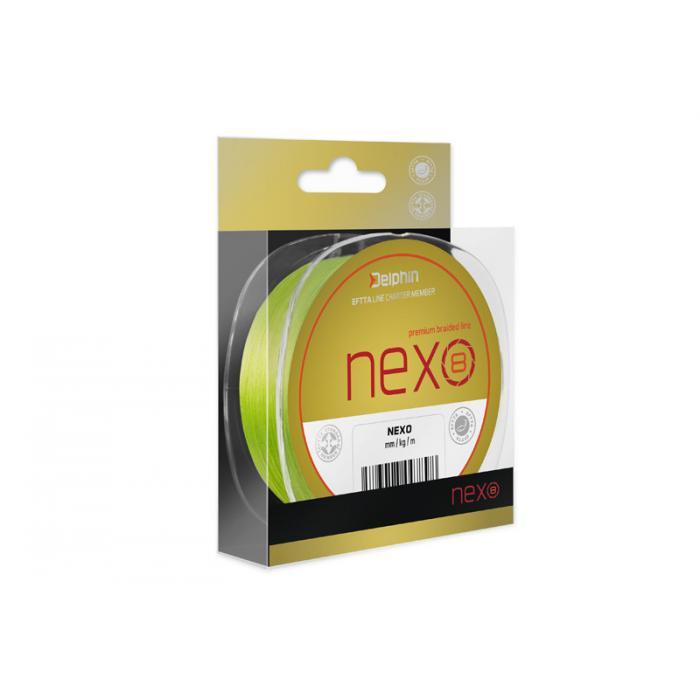 Плетено влакно Delphin NEXO 8 / fluo