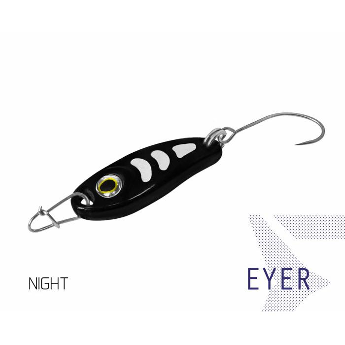 Клатушка Delphin EYER 3g NIGHT Hook #8