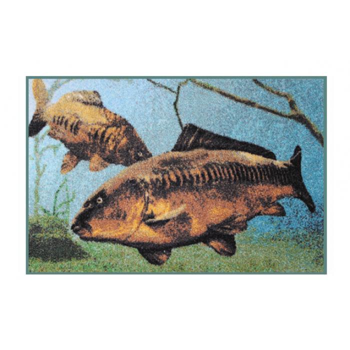 Стелка 3D carps underwater rug - 60x40cm