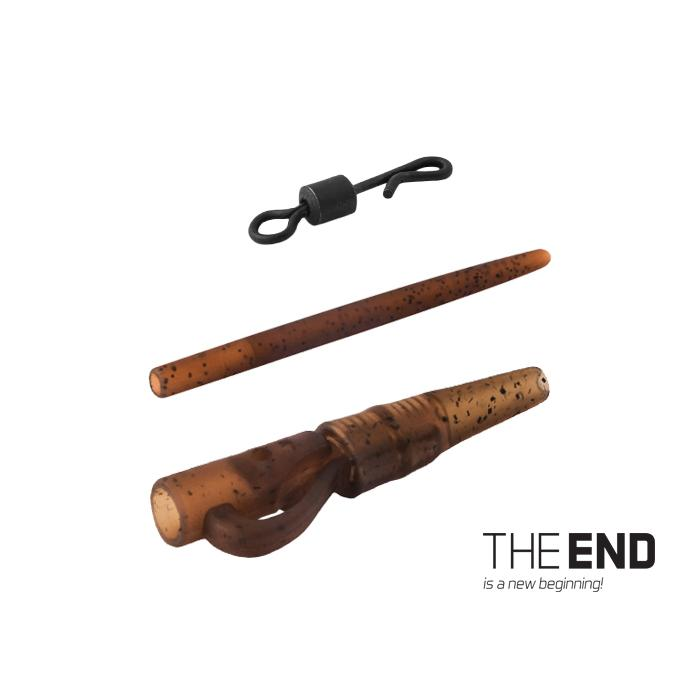 Комплект за шаранджийски монтаж THE END / 5 бр