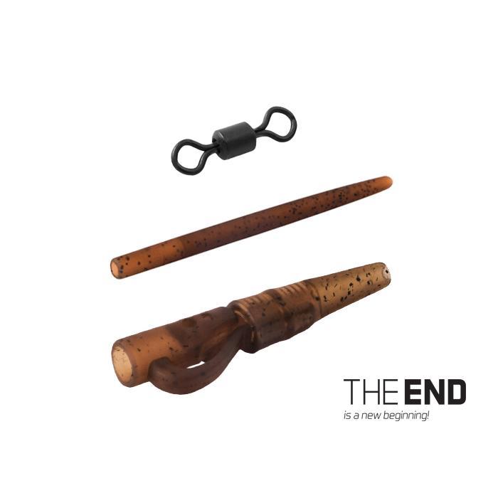 Комплект за шаранджийски монтаж THE END / 6 бр