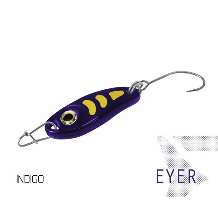 Клатушка Delphin EYER 1.5g INDIGO Hook #8
