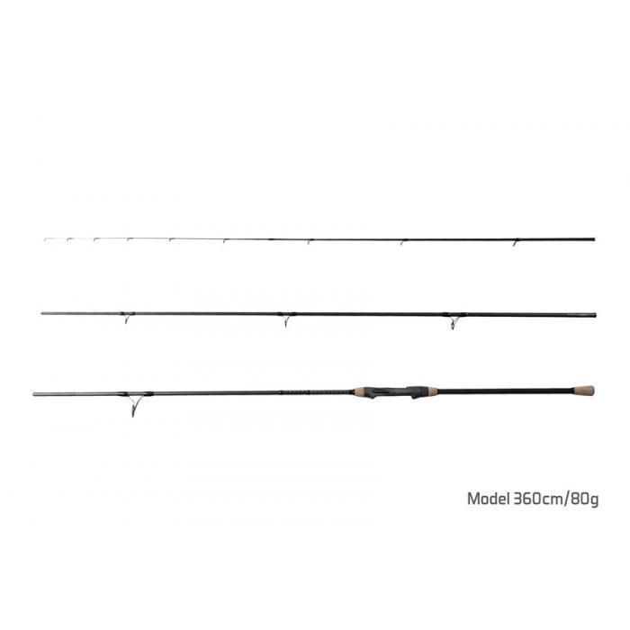 Въдица Delphin OPIUM Feeder V2 SHRINK 330cm/80g