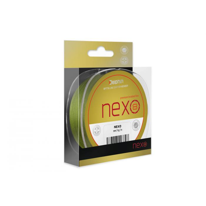 Плетено влакно Delphin NEXO 8 / green