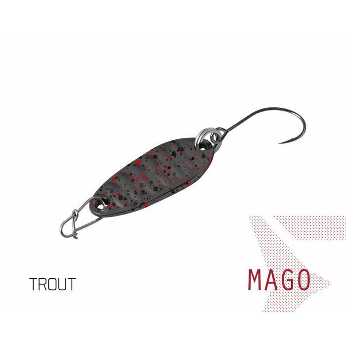 Клатушка Delphin MAGO 2g TROUT Hook #8