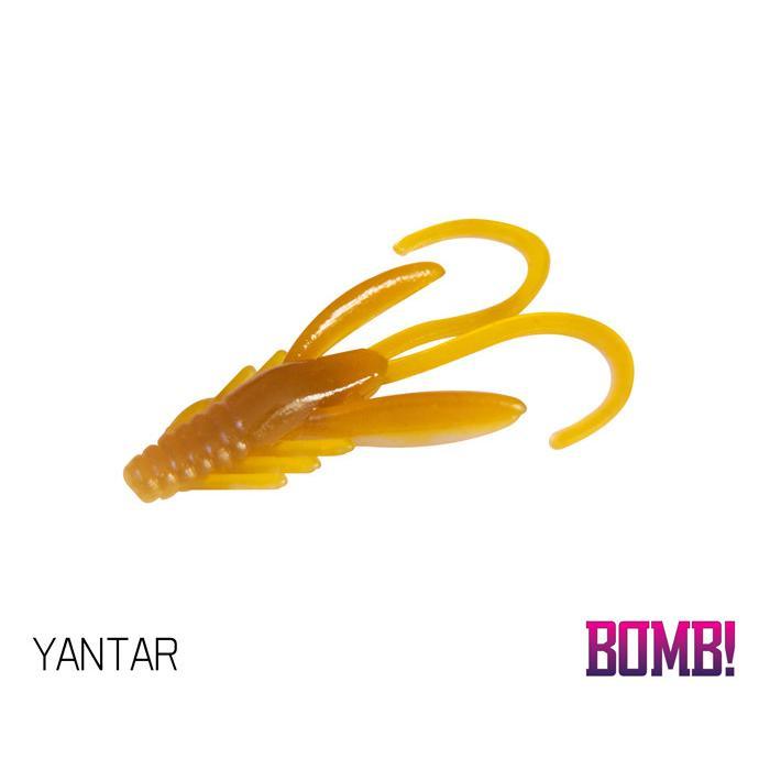 Силиконовоа примамка BOMB! Nympha - 10 бр. - 2,5cm/YANTAR
