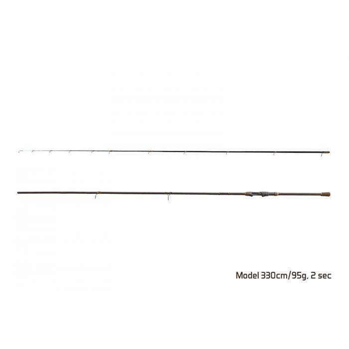 Въдица Delphin IMPALA feeder / 2части 360cm/125g