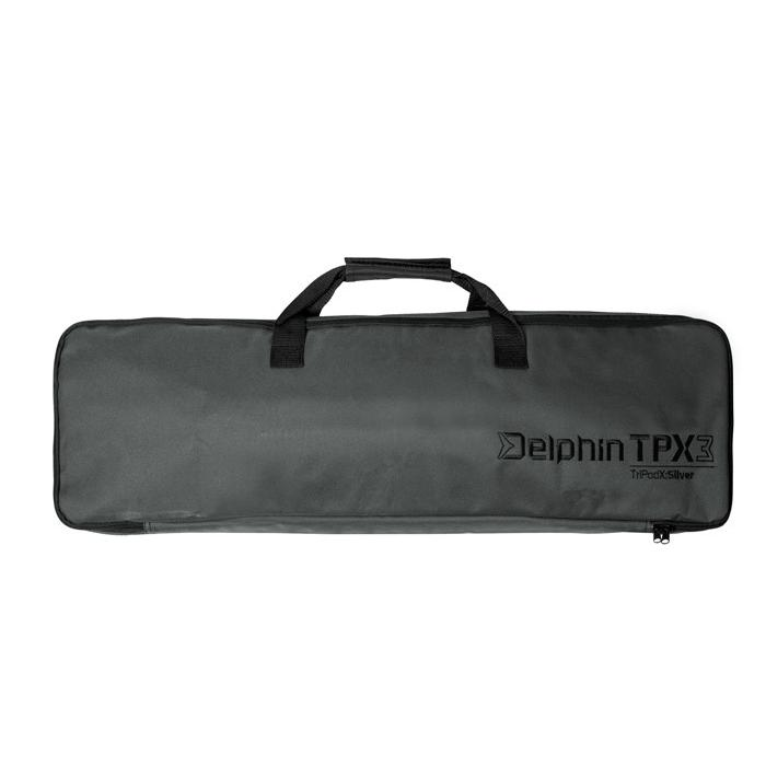 Шаранджийска стойка Delphin TPX3 Silver for 3 rods