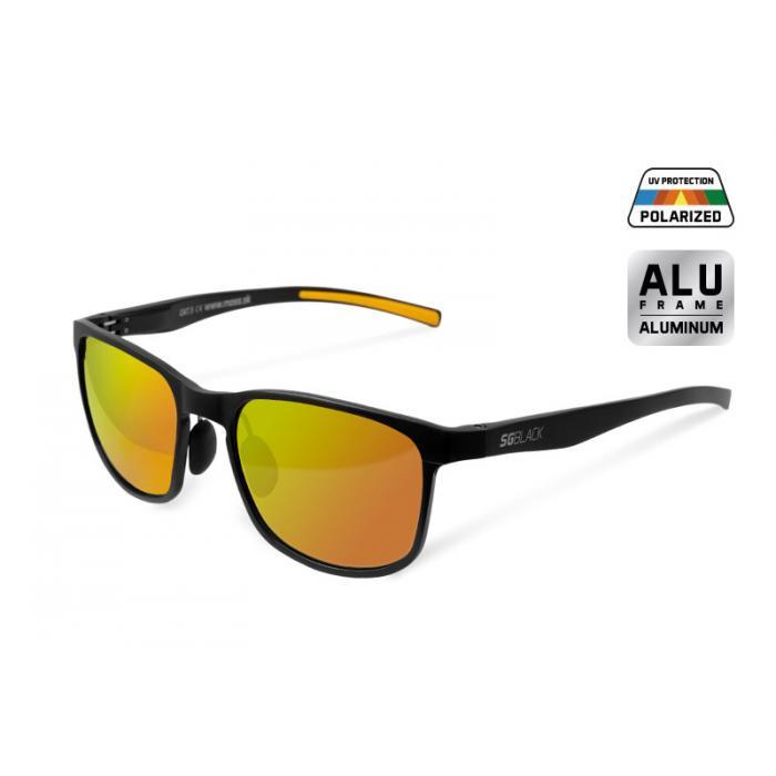 Поляризирирани очила Delphin SG BLACK orange glasses