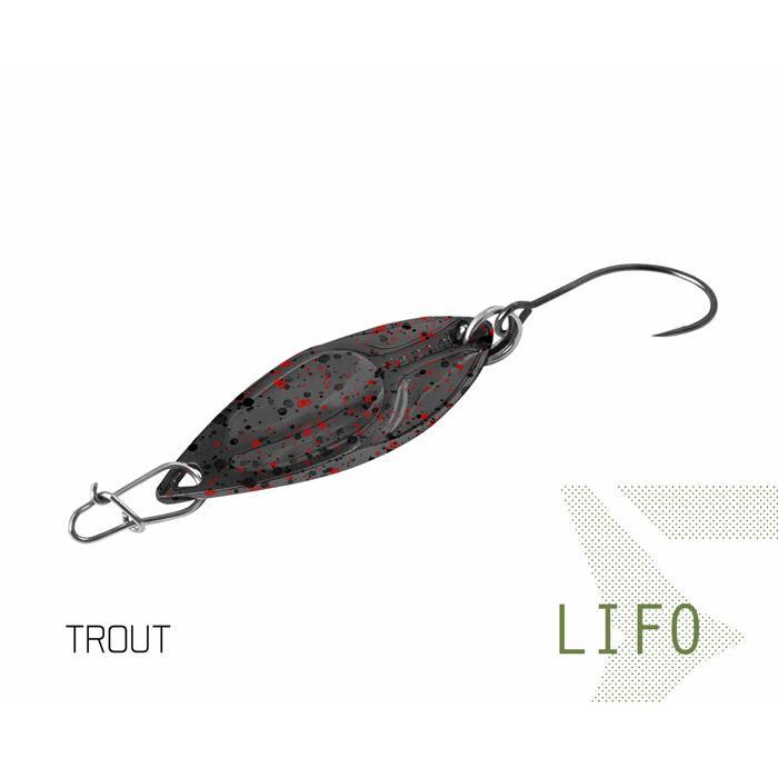 Клатушка Delphin LIFO 2.5g TROUT Hook #8