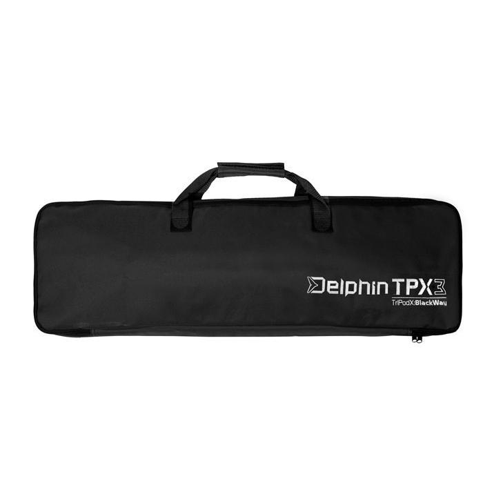 Шаранджийска стойка Delphin TPX3 BlackWay for 3 rods