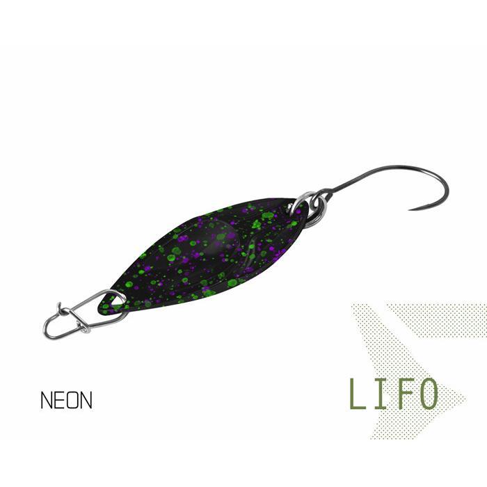 Клатушка Delphin LIFO 2.5g NEON Hook #8