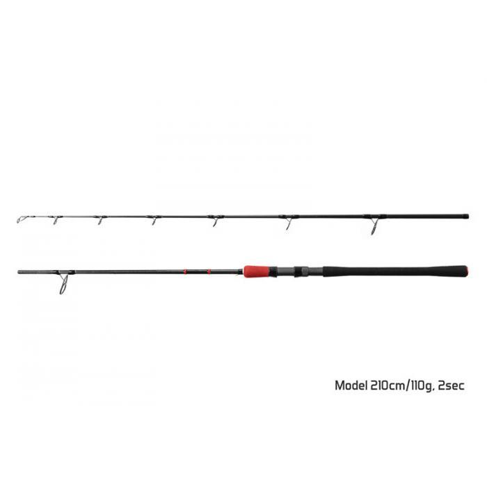 Въдица Delphin RIVERA / 2 части 240cm/150g