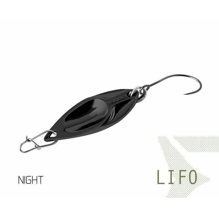 Клатушка Delphin LIFO 2.5g NIGHT Hook #8