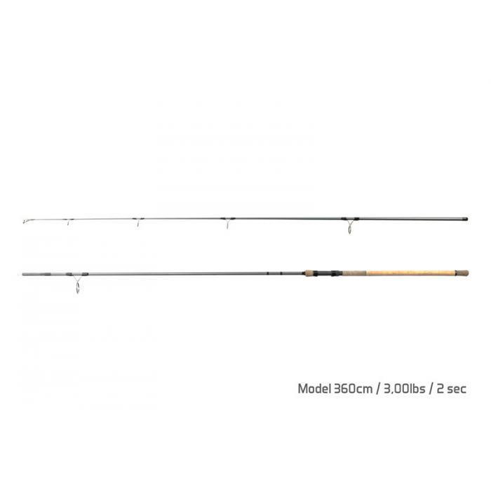 Въдица Delphin TORKS CORK / 2 части 360cm/3,00lbs