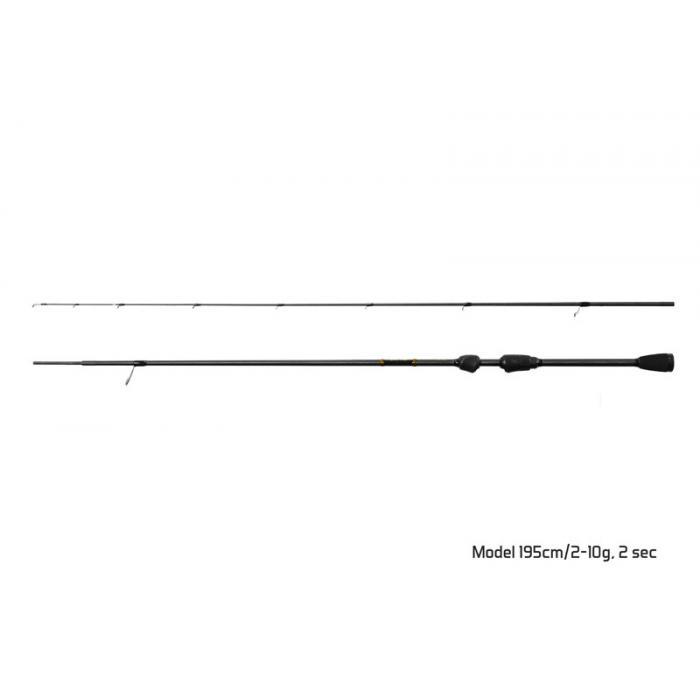 Въдица Delphin SPEED TROUT AREA / 2 части 195cm/2-10g