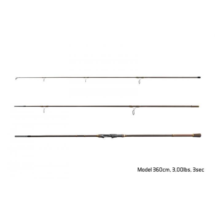 Въдица Delphin IMPALA Carper / 3 части 360cm/3,00lbs