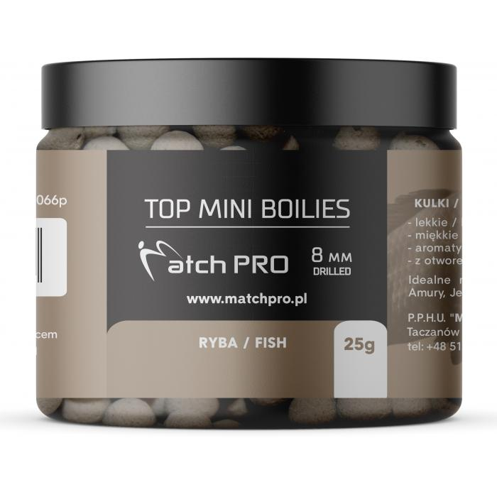 TOP BOILIES FISH 8mm / 25g MatchPro