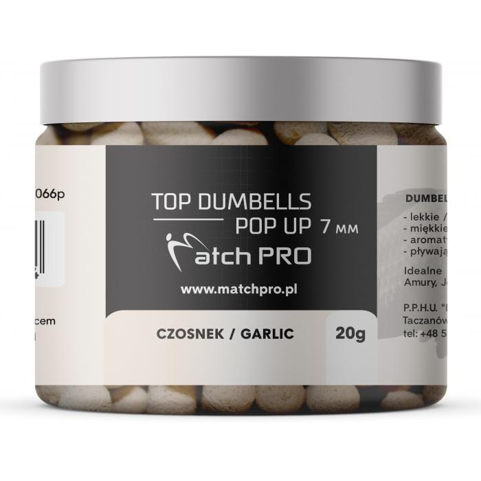 TOP DUMBELLS POP UP GARLIC 7mm / 20g MatchPro