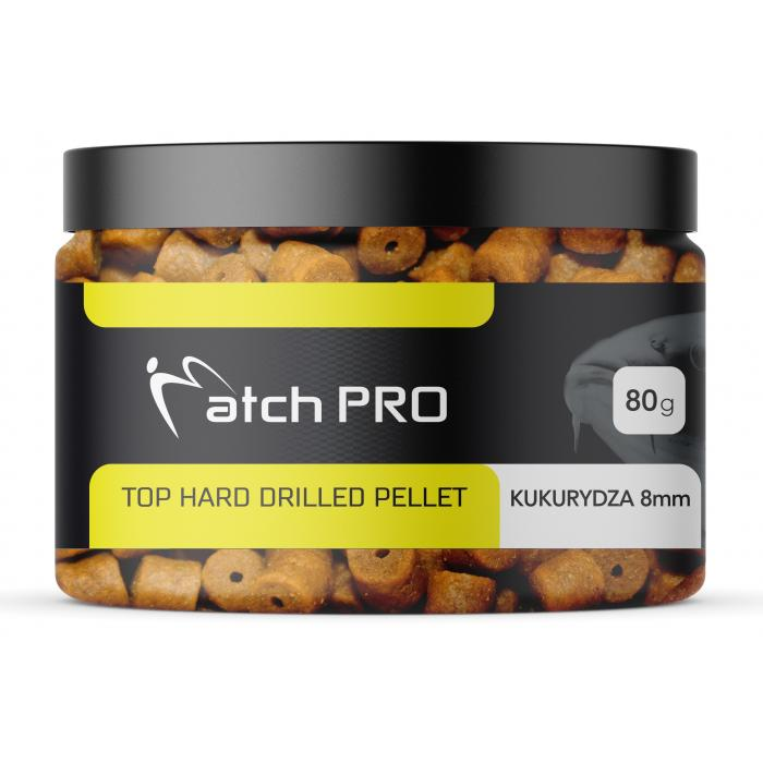 TOP HARD CORN 8mm DRILLED Pellet MatchPro 80g