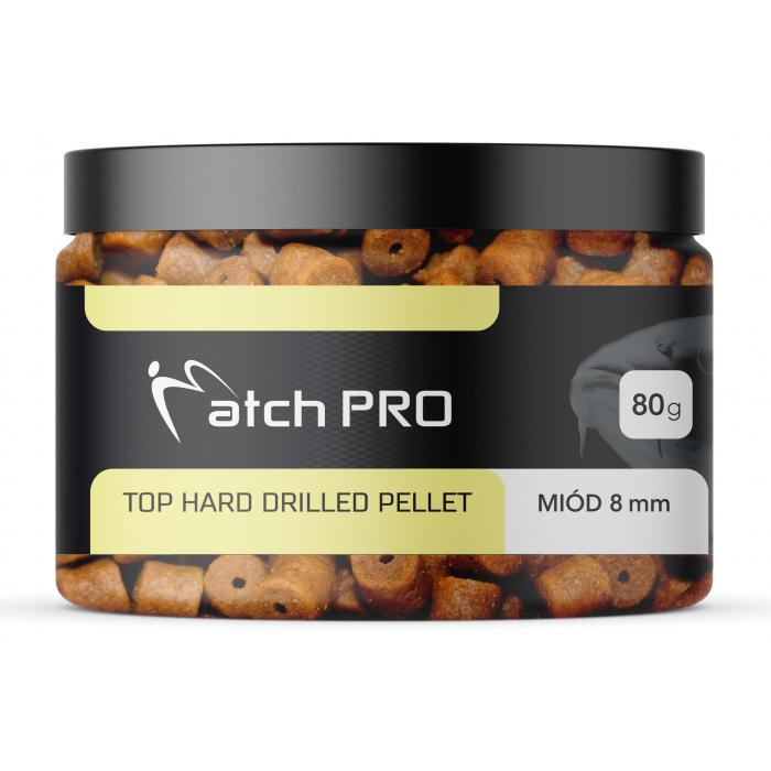 TOP HARD HONEY 8mm DRILLED Pellet MatchPro 80g