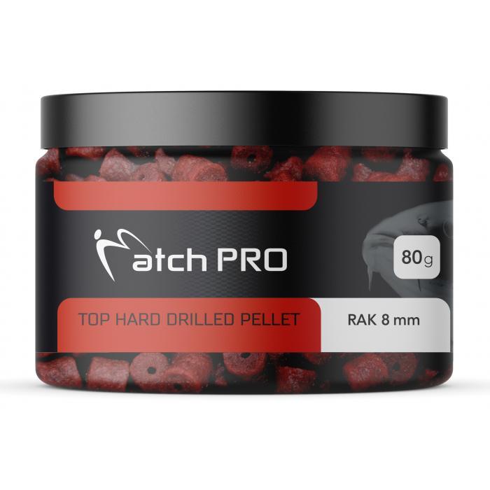 TOP HARD CRAYFISH 8mm DRILLED Pellet MatchPro 80g