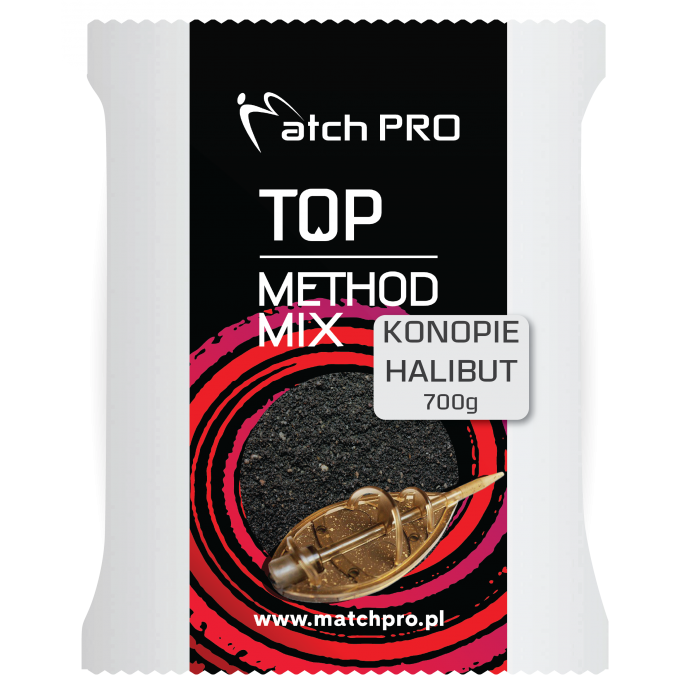 BLACK HALIBUT & HEMP METHODMIX Matchpro 700g