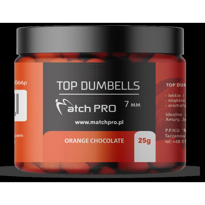 TOP DUMBELLS ORANGE CHOCOLATE 7mm / 25g MatchPro