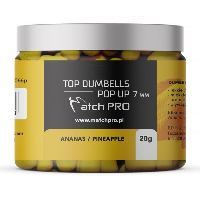 TOP DUMBELLS POP UP PINEAPPLE 7mm / 20g MatchPro