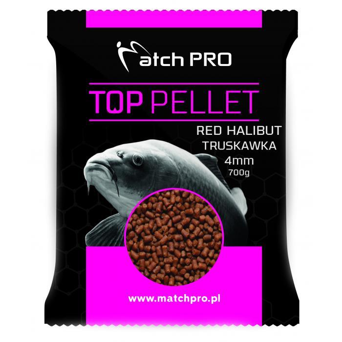 Пелети MatchPro RED HALIBUT & STRAWBERRY 4mm 700g